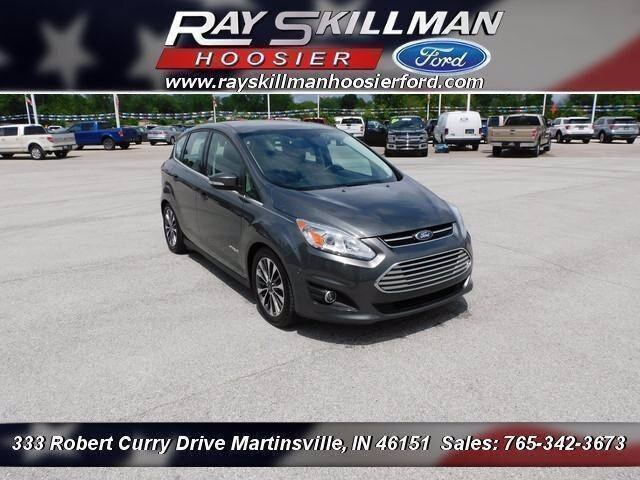 Certified Pre-Owned 2017 Ford C-Max Hybrid Titanium