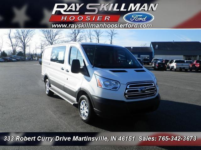 Pre-Owned 2017 Ford Transit-250 w/Sliding Pass-Side Cargo-Door