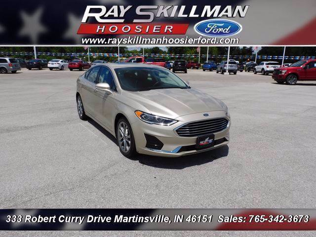 Certified Pre-Owned 2019 Ford Fusion SEL