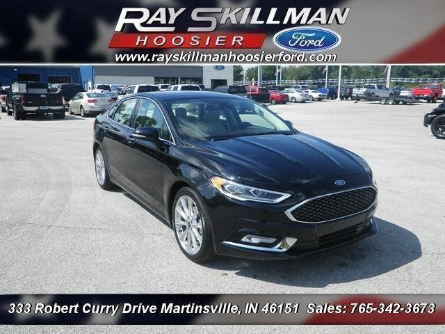 Pre-Owned 2017 Ford Fusion Platinum
