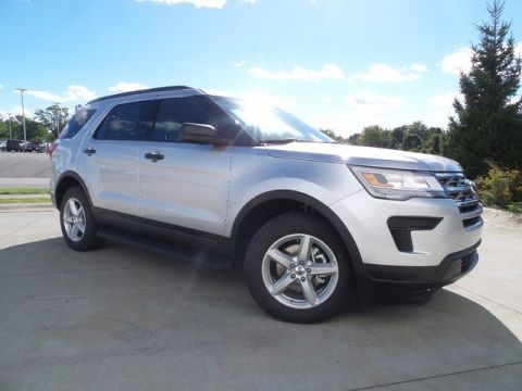 New 2019 Ford Explorer 4DR 4WD BASE