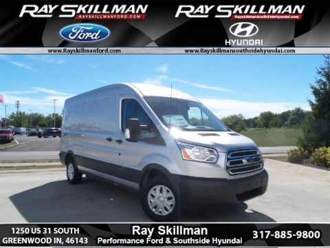 New 2017 Ford Transit-250 w/Sliding Pass-Side Cargo-Door